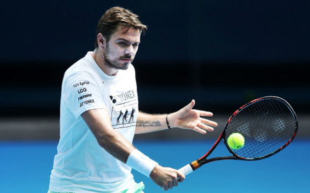 Wawrinka was practicing in Melbourne Park in preparation for both the Australian Open and the TieBreak Tens but leaves his Aussie Open participation in doubt after his withdrawal earlier today (Michael Dodge/Getty Images)