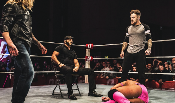 Aries has been making waves in many promotions such as Defiant Wrestling in the UK