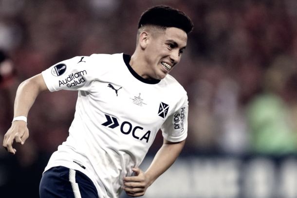 Ezequiel Barco moved to Atlanta for a record breaking fee. | Photo: Buda Mendes/Getty Images