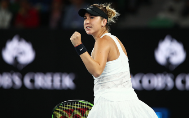 Bencic played excellently in her victory and should like her chances to advance further in the draw (Clive Brunskill/Getty Images)