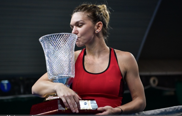 Simona Halep won the Shenzhen Open in 2018. Shenzhen will host two WTA events starting in 2019 (Anadolu Agency/Getty Images)