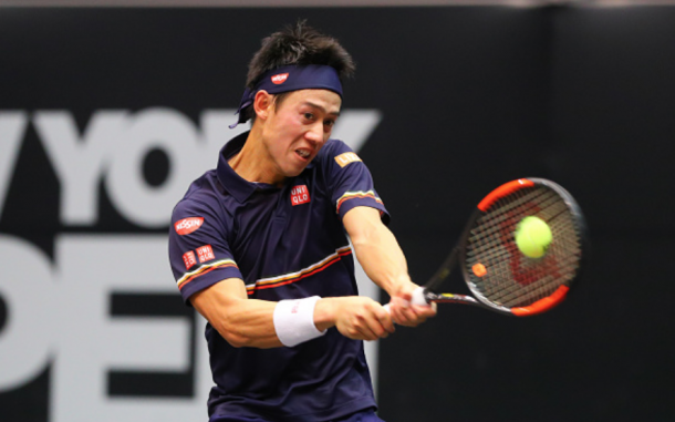 Nishikori has looked solid in his first ATP event back since his wrist injury (Icon Sportswire/Getty Images)