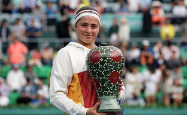 Ostapenko was very solid even after her French Open win, picking up a title in Seoul (Chung Sung-Jun/Getty Images)