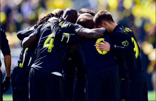 Columbus Crew SC grabbed a last minute penalty goal from Gyasi Zardes to secure a 3-2 win. | Photo: Columbus Crew SC