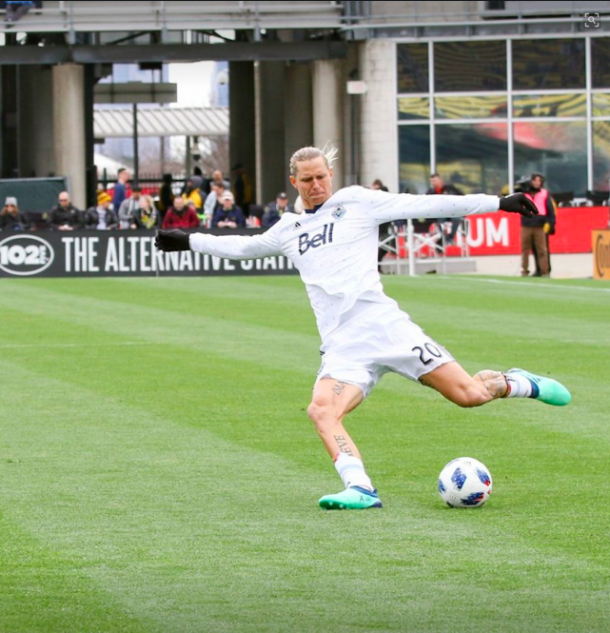 Brek Shea in action against Columbus Crew SC. | Photo: The SkyBoat