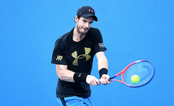 Andy Murray hopes some strong results can come his way when he comes back to the courts this year (Bradley Kanaris/Getty Images)