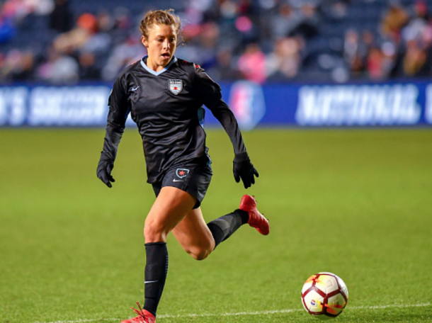 Sofia Huerta has 2 goals and 2 assists in 5 games in the 2018 NWSL season. (Photo by Quinn Harris/Icon Sportswire via Getty Images)