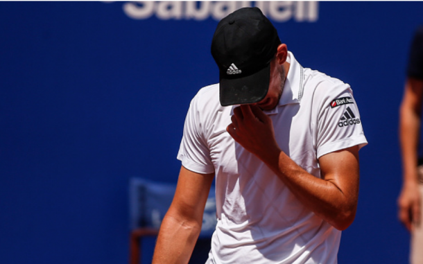 Dominic Thiem has struggled to find his form on clay this spring, a major concern for a defending French Open semifinalist (NurPhoto/Getty Images)