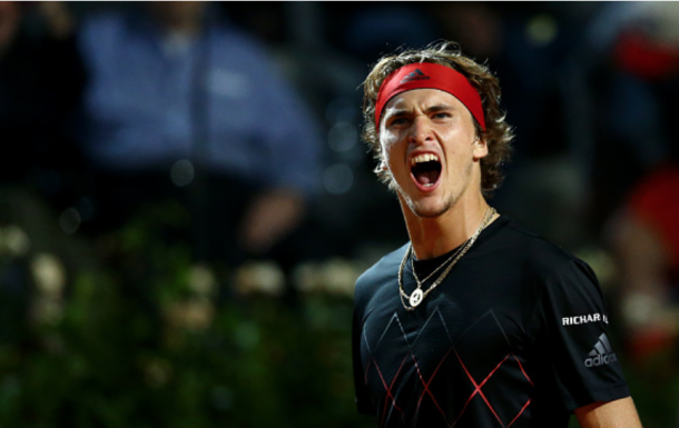 Alexander Zverev gets through his third marathon match this week (NurPhoto/Getty Images)