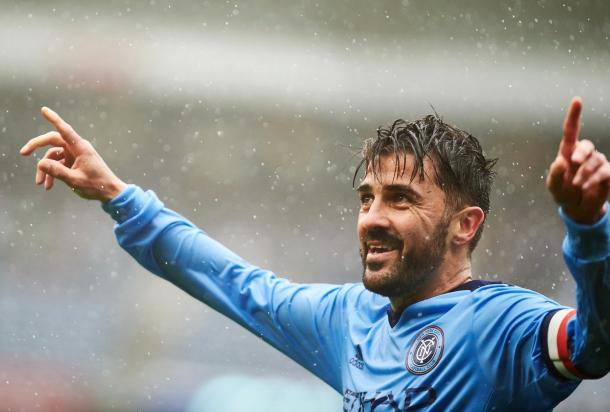 David Villa has had good success vs Houston in the past. | photo: New York City FC