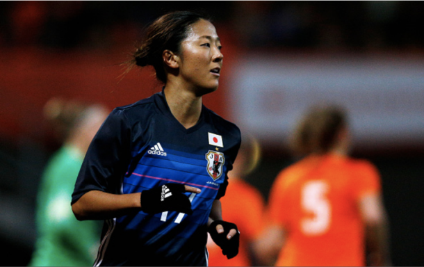 Yuki Nagasato plays for the Japanese National team in addition to the Red Stars. Photo: Getty Images/IconSprtswire