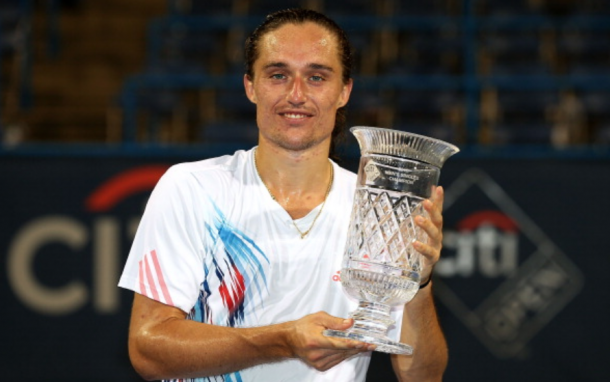 Dolgopolov was the 2012 Citi Open champion (Matthew Stockman/Getty Images)