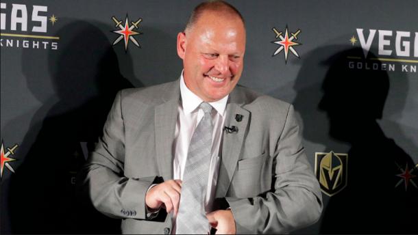 Gerard Gallant wins the Jack Adams Award. | Photo: Sportsnet