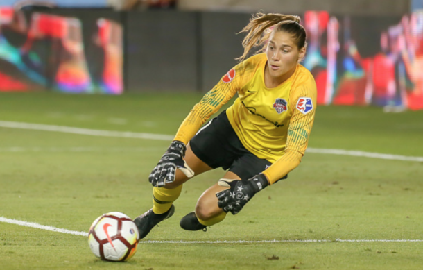 Reigning Player of the Week Aubrey Bledsoe will have her hands full against the Orlando Pride Saturday night. (Photo by Leslie Plaza Johnson/Icon Sportswire via Getty Images)