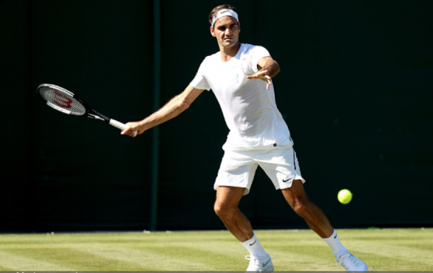 Will nine be divine for Roger Federer at Wimbledon? (Matthew Stockman/Getty Images)
