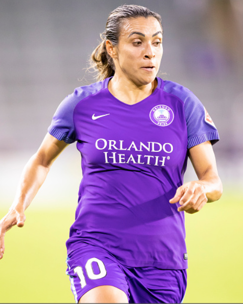 Marta was effective but her and the Orlando Pride could not find the back of the net. (Photo by Andrew Bershaw/Icon Sportswire via Getty Images)