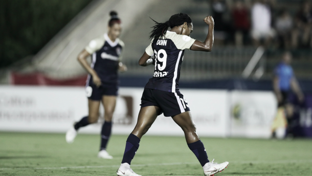 Crystal Dunn with the North Carolina Courage | Photo: NWSLSoccer.com