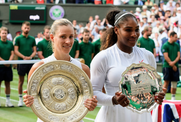 While Serena could not equal Margaret Court's title, Wimbledon has shown us she will still be a force to be reckoned with (TPN/Getty Images)