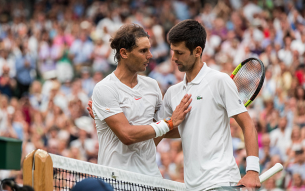 Chapter 52 of the Nadal-Djokovic rivalry went to the Serb in a match that will forever be remembered (Icon Sportswire/Getty Images)