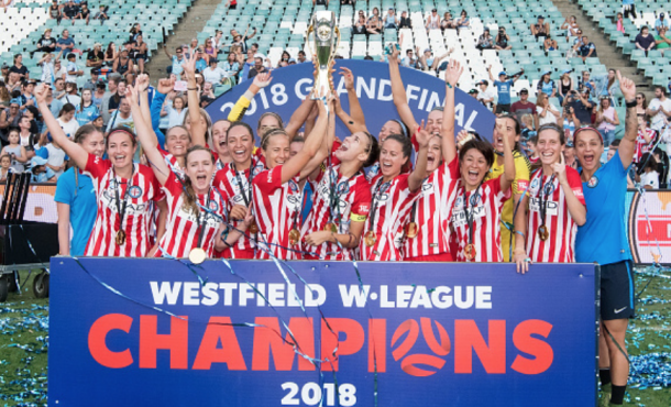 Six players from Orlando Pride and Seattle Reign FC won the W-League in Australia. (Photo by Steven Markham/Icon Sportswire via Getty Images)