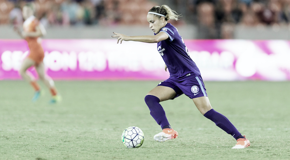 Monica with the Orlando Pride | Photo: NWSLsoccer.com