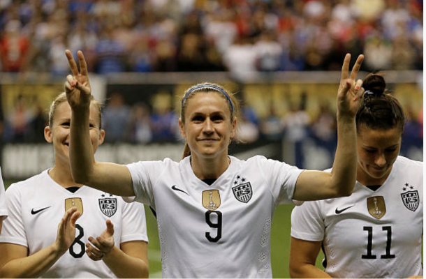 Heather O'Reilly is a retired National Team player. Photo: Getty Images/IconSportswire