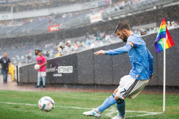 A rainy day in the Bronx. | Photo: New York City FC