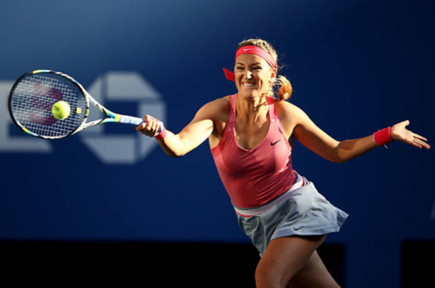 Victoria Azarenka was a two-time finalist and hopes to capture a US Open title (Stan Honda/Getty Images)