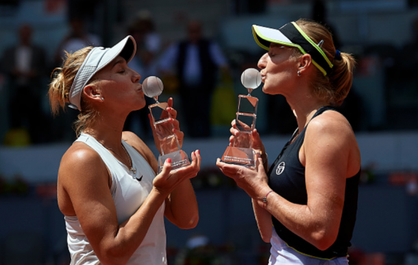The last of the titles the all-Russian duo won was in Madrid (Quality Image Sport/Getty Images)