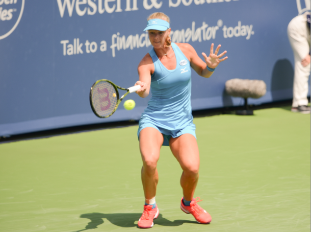 Bertens' forehand played a key role in her comeback (Noel Alberto/VAVEL USA)
