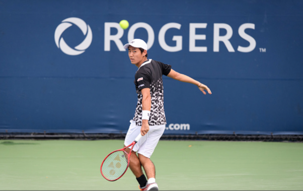 Nishioka in Canada (Icon Sportswire/Getty Images)