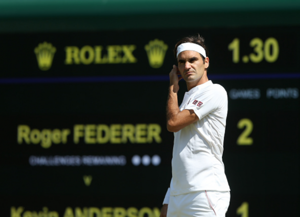 Federer at Wimbledon (TPN/Getty Images)
