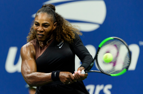 Serena's groundstrokes were excellent (TPN/Getty Images)