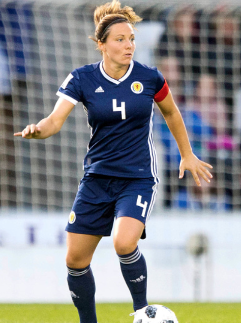 Rachel Corsie will hope to directly qualify for the 2019 Women's World Cup on September 4th. (Photo by Jeff Holmes/PA Images via Getty Images)