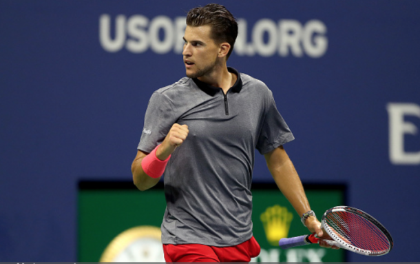 Dominic Thiem was exceptional in the opening set (Matthew Stockman/Getty Images)