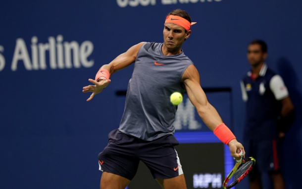Nadal's forehand began to fire in the second set (Anadolu Agency/Getty Images)
