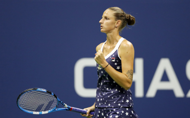 Pliskova was dominant in the early stages of this match (Matthew Stockman/Getty Images)