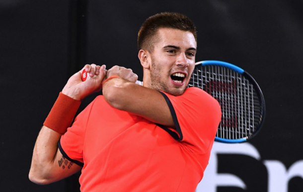 Coric didn't play a tour-level event before the Australian but did play in the World Tennis Challenge (Mark Brake/Getty Images)