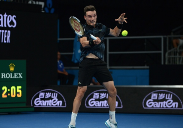 The Bautista Agut forehand was a weapon all day (Anadolu Agency/Getty Images)