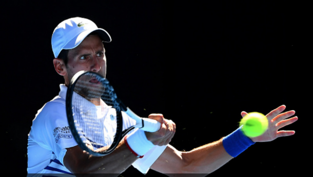 Djokovic's groundstrokes were solid today (Quinn Rooney/Getty Images)