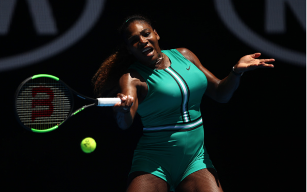 When Serena began to string games together, her forehand caused major issues (Julian Finney/Getty Images)