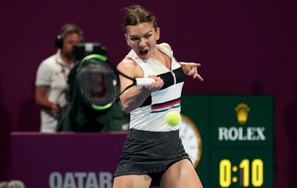 Halep was dominant in the opening set (Quality Images/Getty Images)