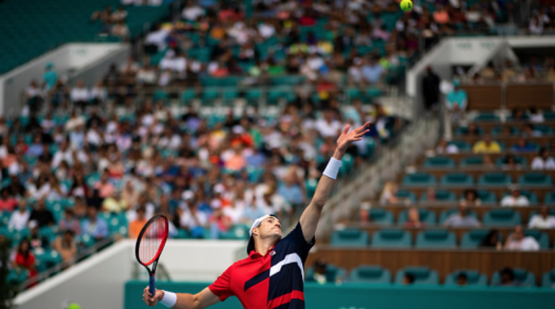 Isner's been dominant on serve this week (Getty Images/TPN)