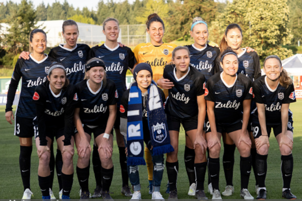 Reign FC play the first game at their new home at Chesney Stadium in Tacoma, Washington. (Photo by Joseph Weiser/Icon Sportswire via Getty Images)