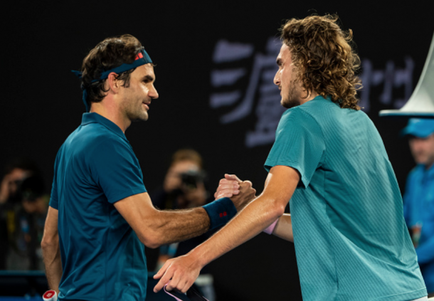Will Tsitsipas take out Federer for a second straight major (TPN/Getty Images)