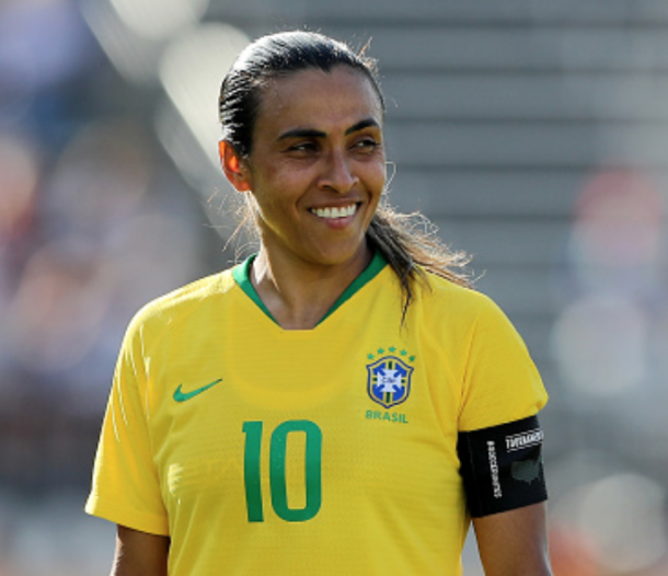 This might be Marta's last chance to win a Women's World Cup as a player. (Photo by Elsa/Getty Images)