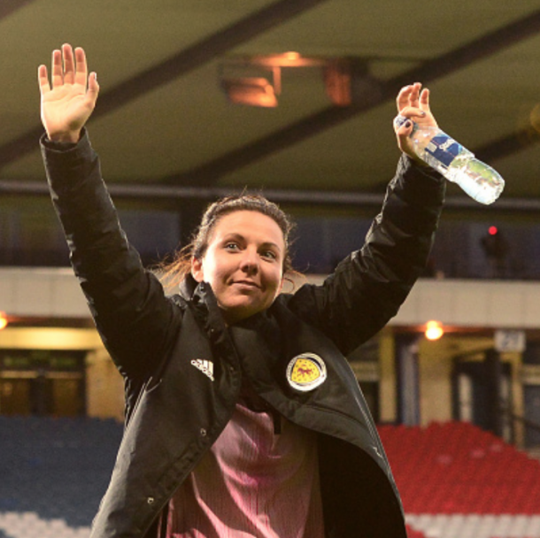 Scotland captain Rachel Corsie will lead Scotland to their first World Cup appearance