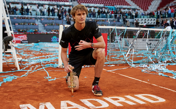 Alexander Zverev has won multiple Masters titles but has struggled to perform this year and majors (NurPhoto/Zimbio/Getty Images)