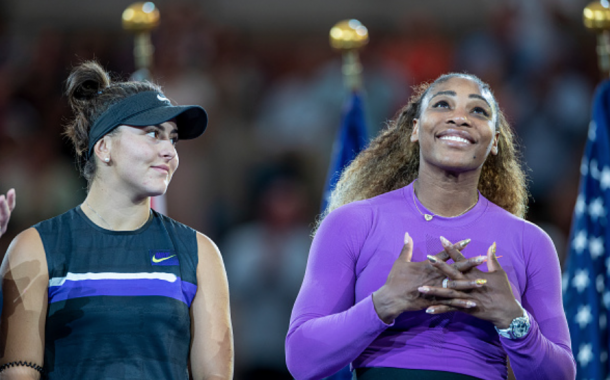 The teen phenom Bianca Andreescu and the living legend Serena Williams. Two generations in one final (Tim Clayton/Corbis/Getty Images)