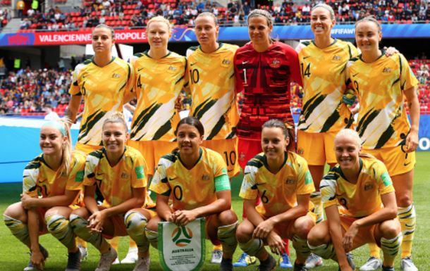 Australia's Westfield Matildas prepare for Asian Olympic Qualifying next year. (Photo by Robert Cianflone/Getty Images)